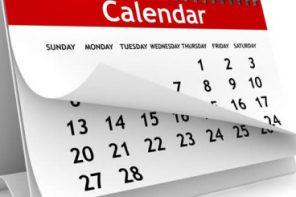 Kalendar izleta za 2019 godinu