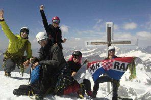 Visokogorci na Grossvenedigeru (3666 m)-austrija