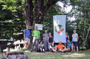 Planinarsko taborovanje na velikoj poljani