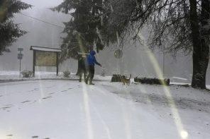 Prvi snijeg ove sezone 2019.