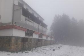 Prvi snijeg ove sezone 2020./2021.