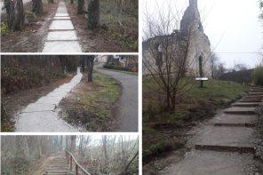 Završeni građevinski radovi uređenja nove poučne staze na Kalvariji